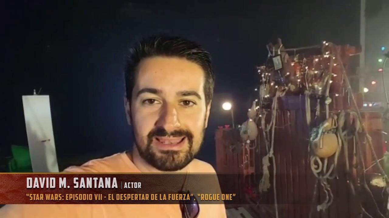 Saludo de David M. Santana