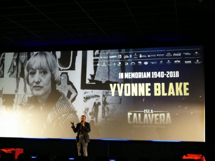 El Festival de Cine Fantástico de Canarias - Isla Calavera rinde homenaje a Yvonne Blake.