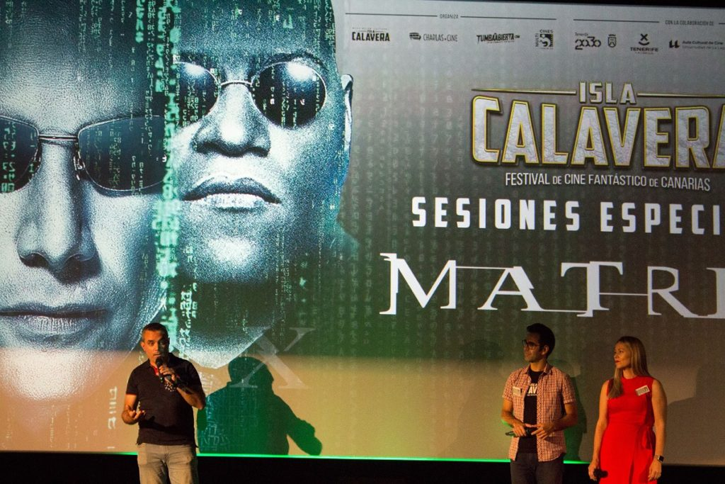 Evento prefestival 'Matrix'.