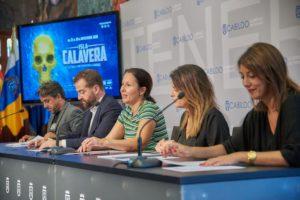 Rueda de prensa de presentación del tercera edición del Festival de Cine Fantástico de Canarias Isla Calavera