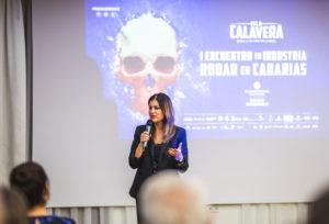 Matilde Zambudio, primera teniente de alcaldesa y concejala de Promoción Económica del Ayuntamiento de Santa Cruz de Tenerife.