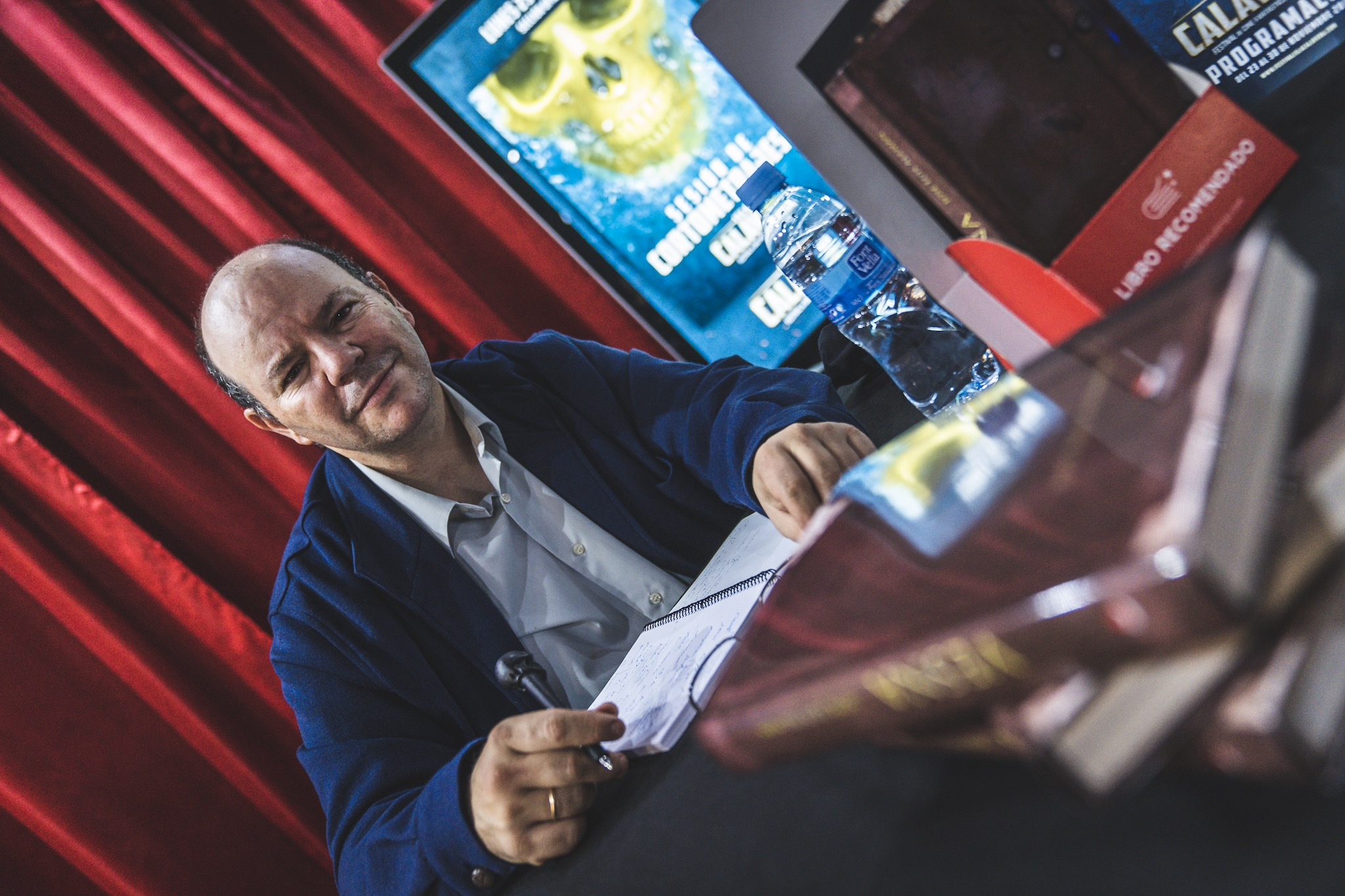 Presentación del libro 'Vesna', de José Luis Alemán.