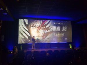 Presentación de la proyección de 'Human Lost'.