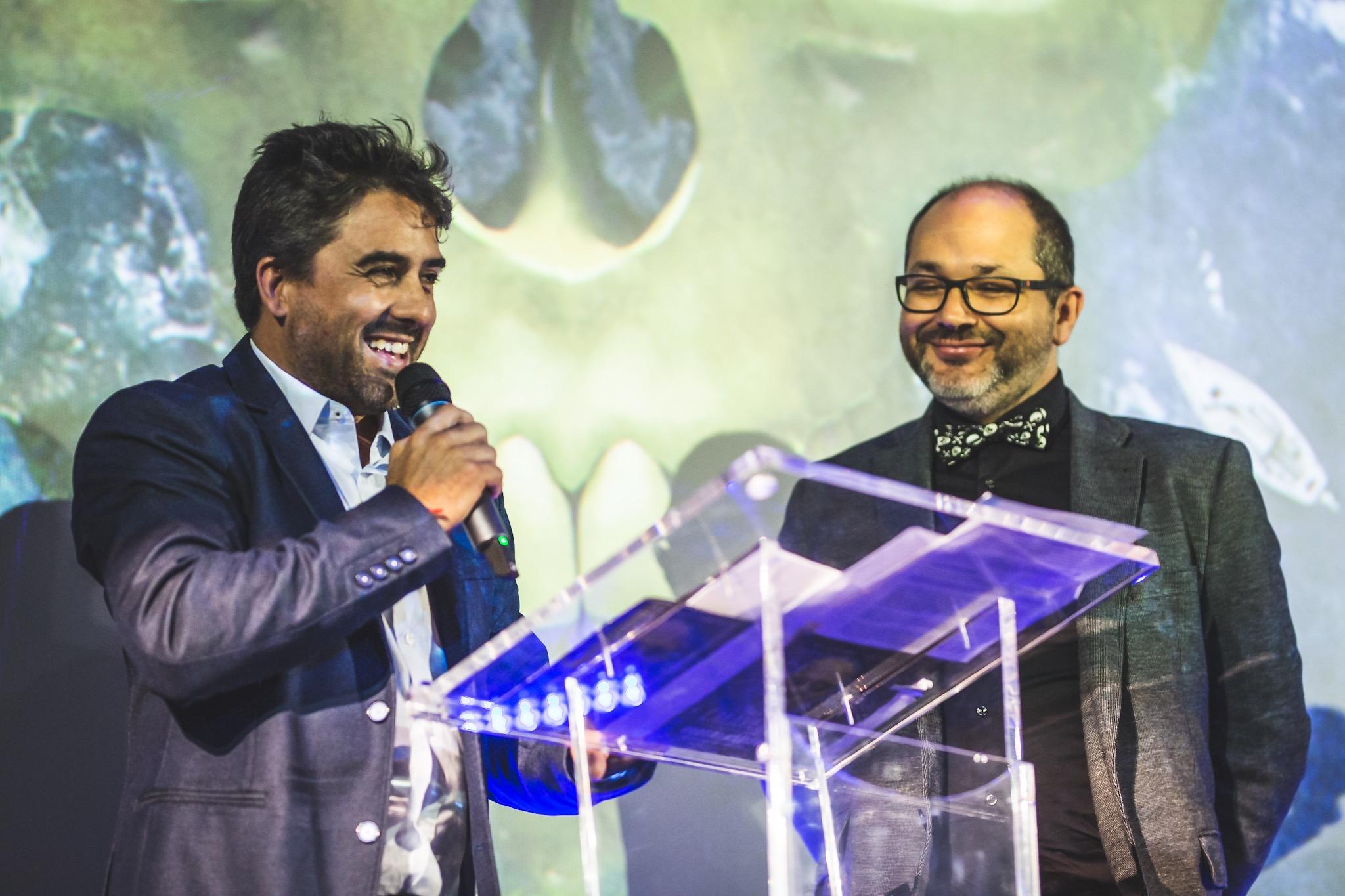 Ramón González Trujillo y Daniel Fumero, codirectores del Festival Isla Calavera.