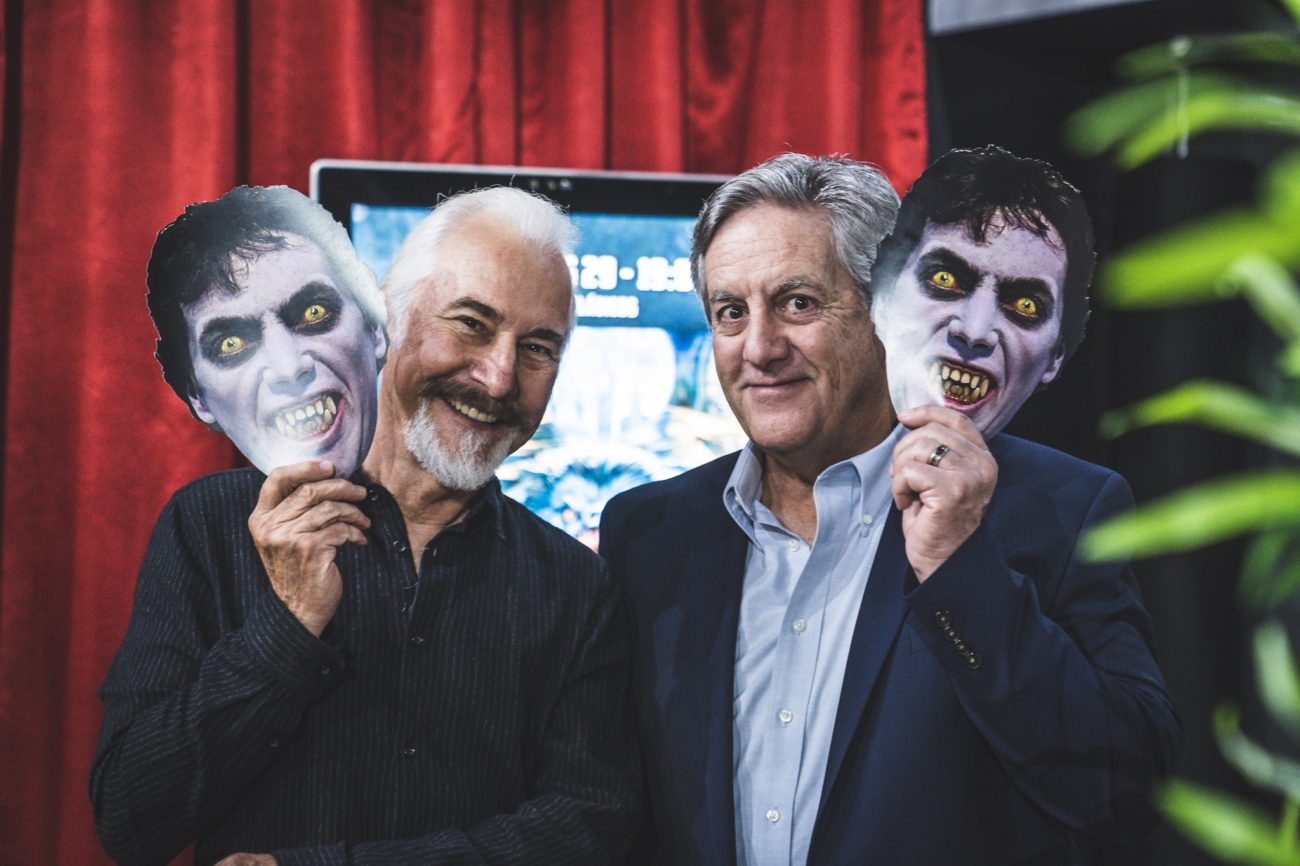 Rick Baker y David Naughton