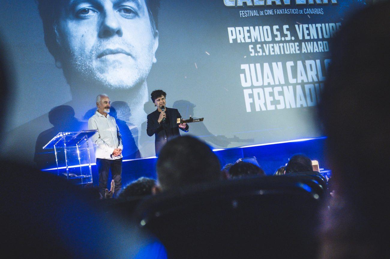 Rick Baker y Juan Carlos Fresnadillo