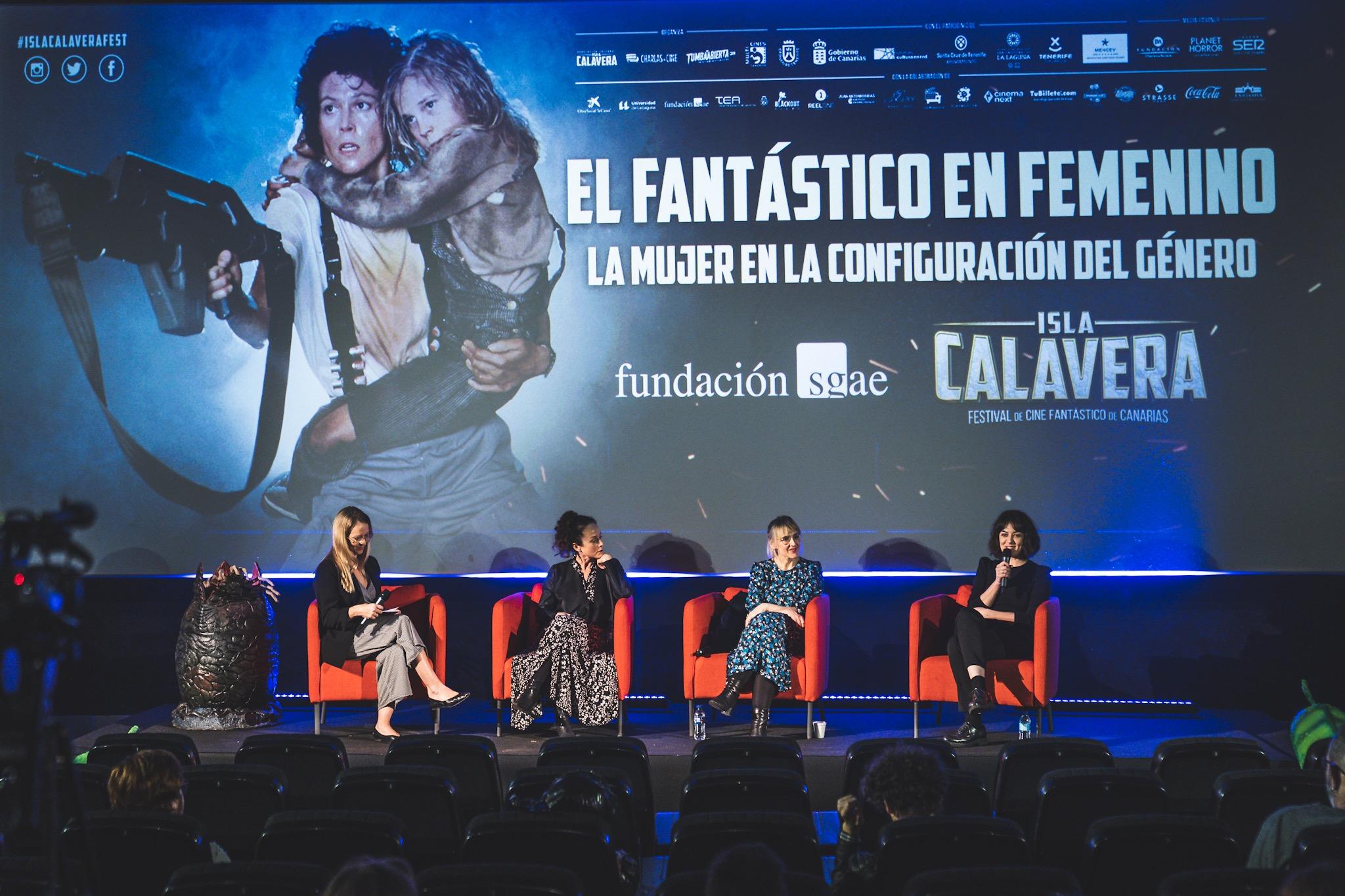 El fantástrico en Femenino. Vanesa Bocanegra, Paola Bontempi, Desireé de Fez y Norma Vila