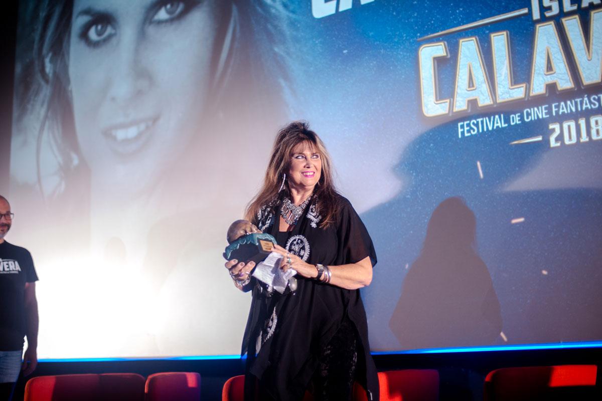 Caroline Munro. Premios Isla Calavera de Honor