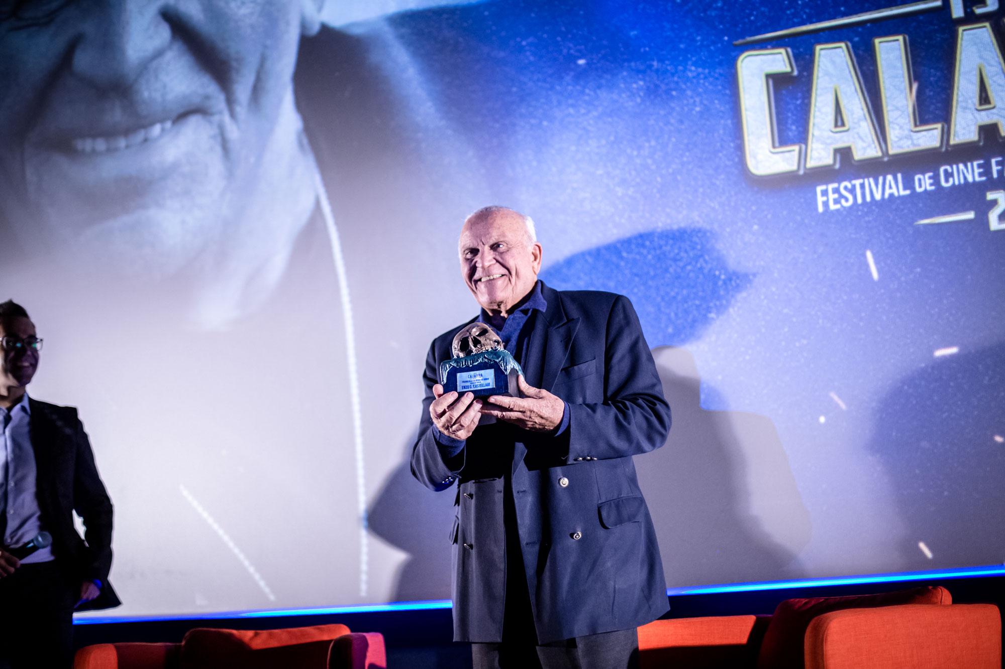 Enzo G. Castellari Premio Isla Calavera de honor