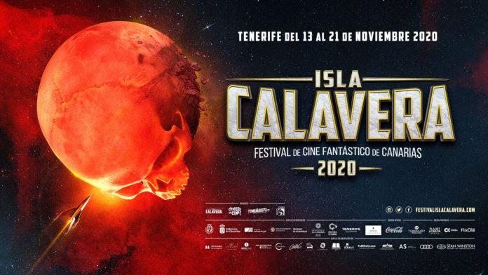 Cartel Oficial Festival de Cine Fantástico de Canarias Isla Calavera 2020