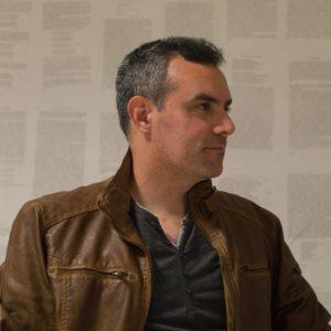 Víctor Conde, autor de 'El beso de Copacati'. (c) Miguel Ángel Roldán