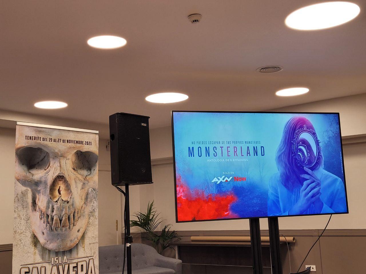 Los dos primeros episodios de la serie 'Monsterland' de AXN se podrán ver en Isla Calavera, por primera vez en pantalla grande en España.