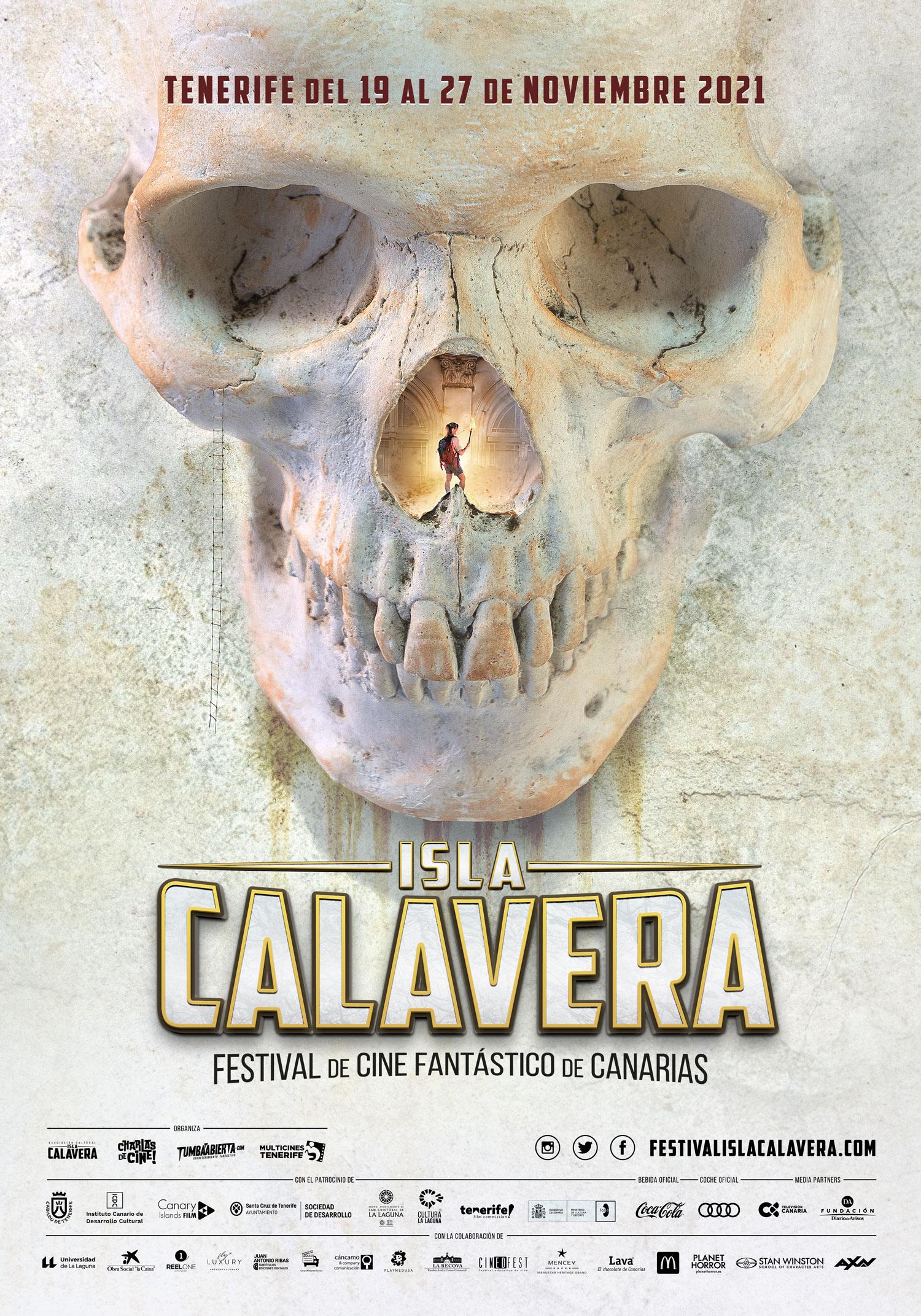 cartel ISLA CALAVERA 2021
