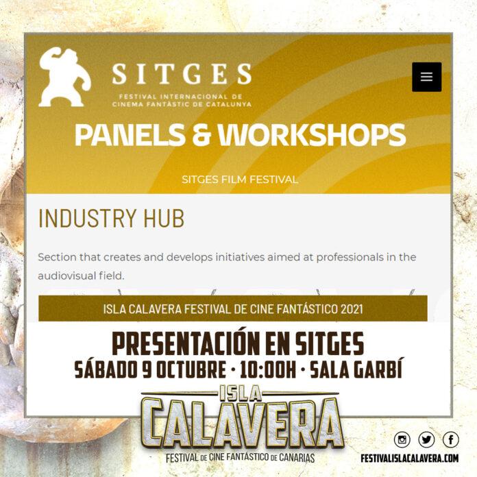 Presentación en Sitges del Festival Isla Calavera 2021.